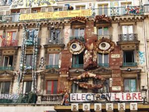 Squat rue de Rivoli (Paris)