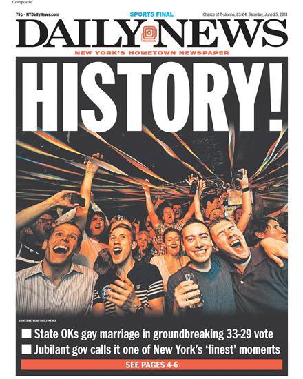 Good as... Mariage gay en bonne voie aux Usa