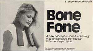 Conduction osseuse, bone conduction, walkman, sony, musique, bone fone, disco roller