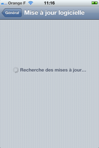iOS 5 : Mise a jour directement depuis l'iPhone/iPod (On the air)