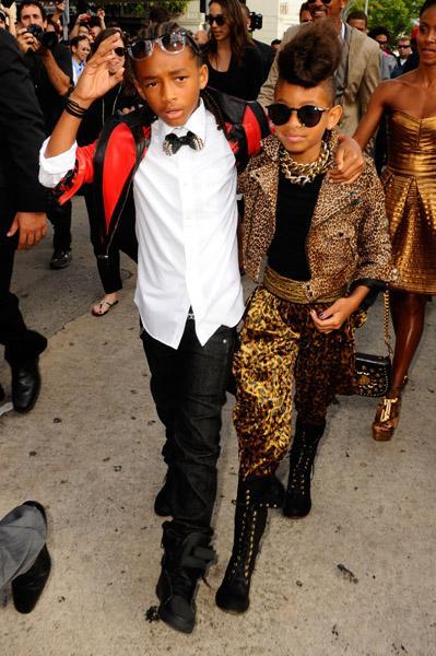 Le look de Willow et Jaden Smith aux BET Awards