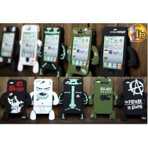 Coque Yettide Iphone 4, Votre Iphone avec des bras et des jambes!
