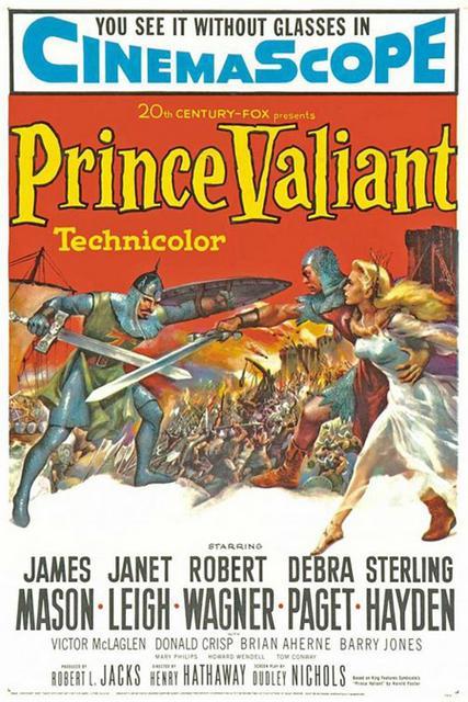 Prince Vaillant - Prince Valiant, Henry Hathaway (1954)