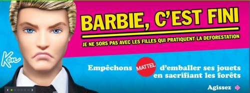 Ken & Barbie … Le divorce