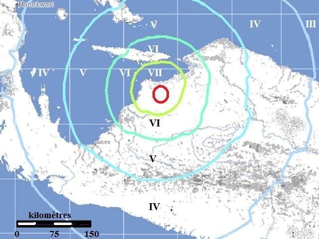 6.4 Papouasie, Intensité du séisme.jpg