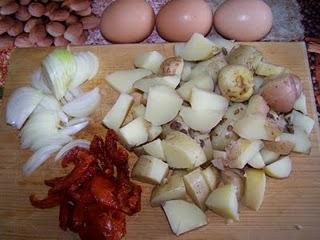 Omelette ensoleillée