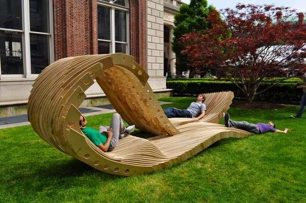 Visual Permeability Pavilion - 6