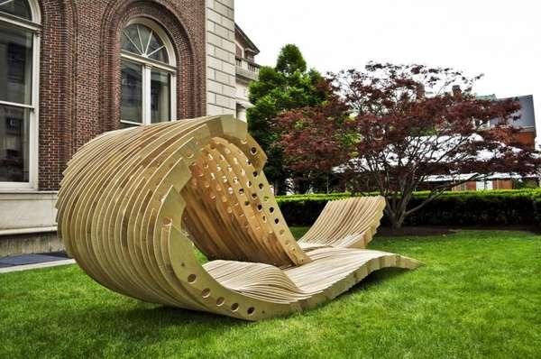 Visual Permeability Pavilion - 3