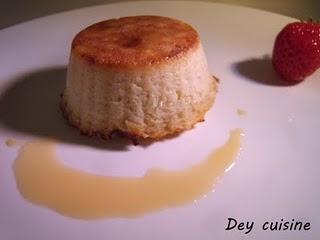 Moelleux pomme & coeur coulant confiture de lait