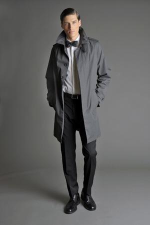 Men Look08 Grey Background La superbe collection Mad Men pour Banana Republic