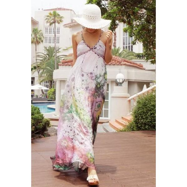 robe longue showroom mode