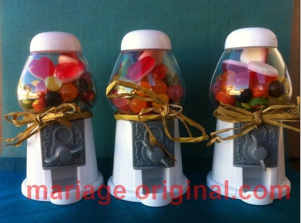 decoration de mariage theme bonbon