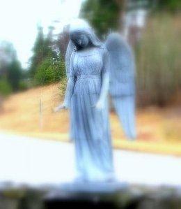 Hammarby angel statue