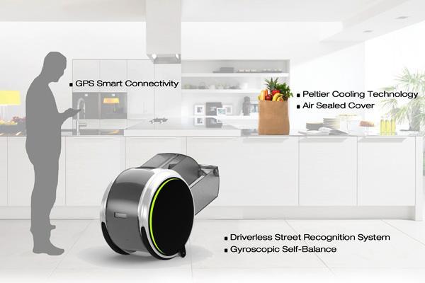 Le robot panier d'achat, un jour peut-être !