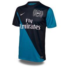 Le nouveau maillot d'Arsenal avec Nasri