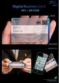 Du téléphone aux cartes de visite NFC