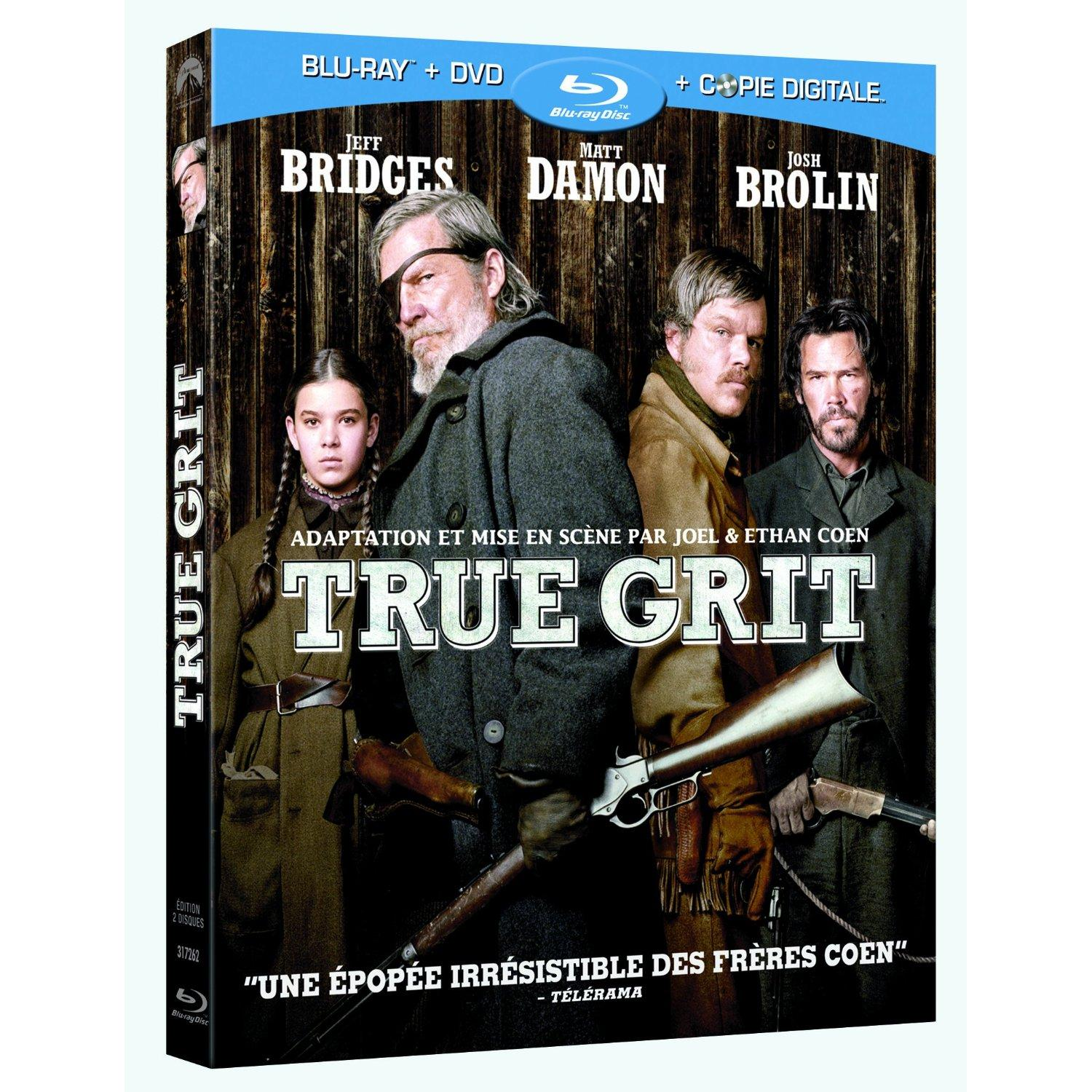 True Grit : un Blu-ray too great