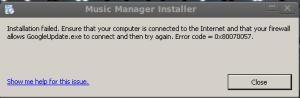 Google Music Beta Inside: Tutoriel Linux-Friendly)