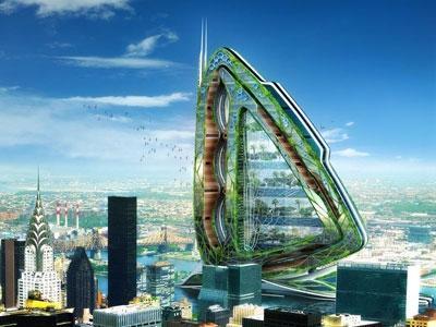 Les projets d 39 architecture futuristes d couvrir for Architecture futuriste