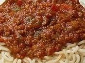 Sauce spaghetti Italien