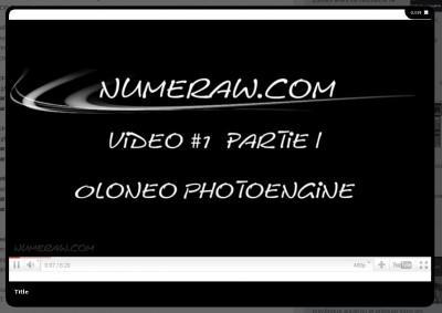 Logiciel : découvrir Oloneo PhotoEngine