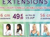 Extensions cheveux humains valide