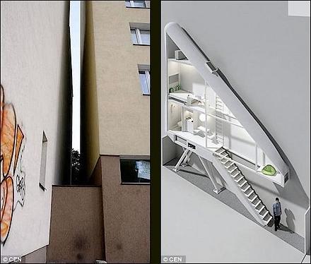 Maison troite varsovie paperblog - Maison etroite ...