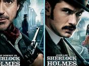 posters pour nouveau Sherlock Holmes