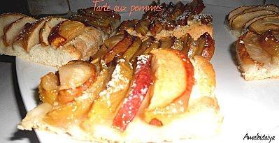 tarte ay pomme Amal2