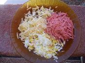 Poulet rôti spaghetti couleurs