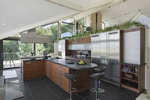 Villa atmosph re style contemporain pr s de gen ve voir for Cuisiniste geneve