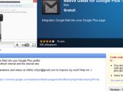 Notification Gmail dans Google+