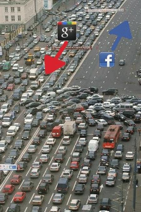 TransBlogExpress 16 : Google+ vs Facebook, la guerre en images #fun