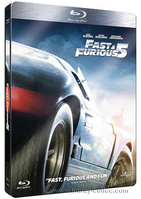fast and furious 5 met la gomme en dition collector steelbook et coffret int grale lire. Black Bedroom Furniture Sets. Home Design Ideas