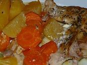 Lapin pommes terre, carottes moutarde (Mijot' cook)