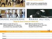 Stages danse Lion juillet aout 2011