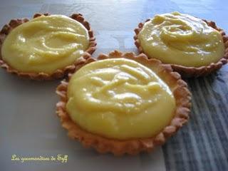 Tartelettes au citron de Pascale Weeks