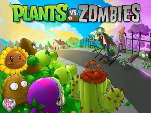 jaquette plants vs zombies pc cover avant g 600x450 Les jeux PopCap chez Sony Ericsson