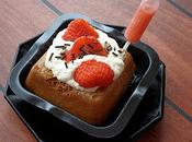 Baba rhum fraise