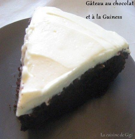 gâteau chocolat guiness
