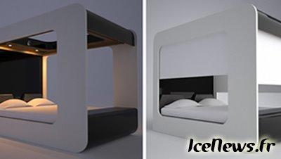 hi can lit high tech lire. Black Bedroom Furniture Sets. Home Design Ideas