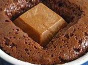 Coulant chocolat coeur praliné