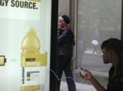publicités Vitamin Water peuvent recharger iDevices