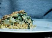 Recette Gratin quinoa blettes Cyril Lignac