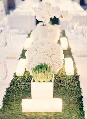 un centre de table de mariage nature chic clair paperblog. Black Bedroom Furniture Sets. Home Design Ideas