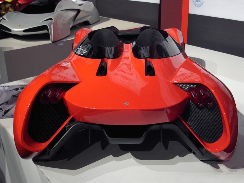 Eternit Ferrari, la Ferrari du futur.