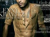 Lenny Kravitz dévoile abdos pour Uptown Magazine