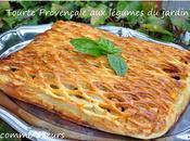 Tourte provençale légumes jardin
