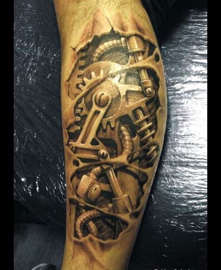 tattoo mecanic