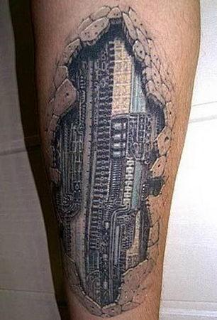 tatouage robot